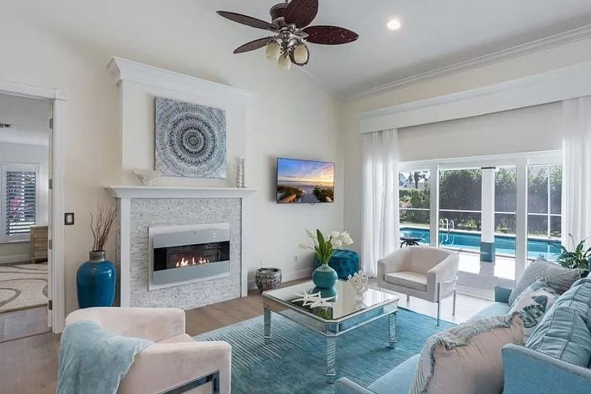 2036 Prince Drive living room | Home Staging Services Southwest Florida