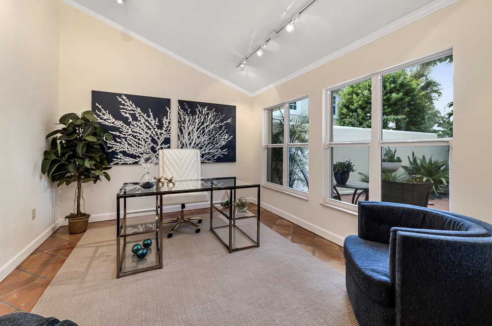 Greenflower Court Office staged by Naples Home Staging | Home Staging Services Southwest Florida