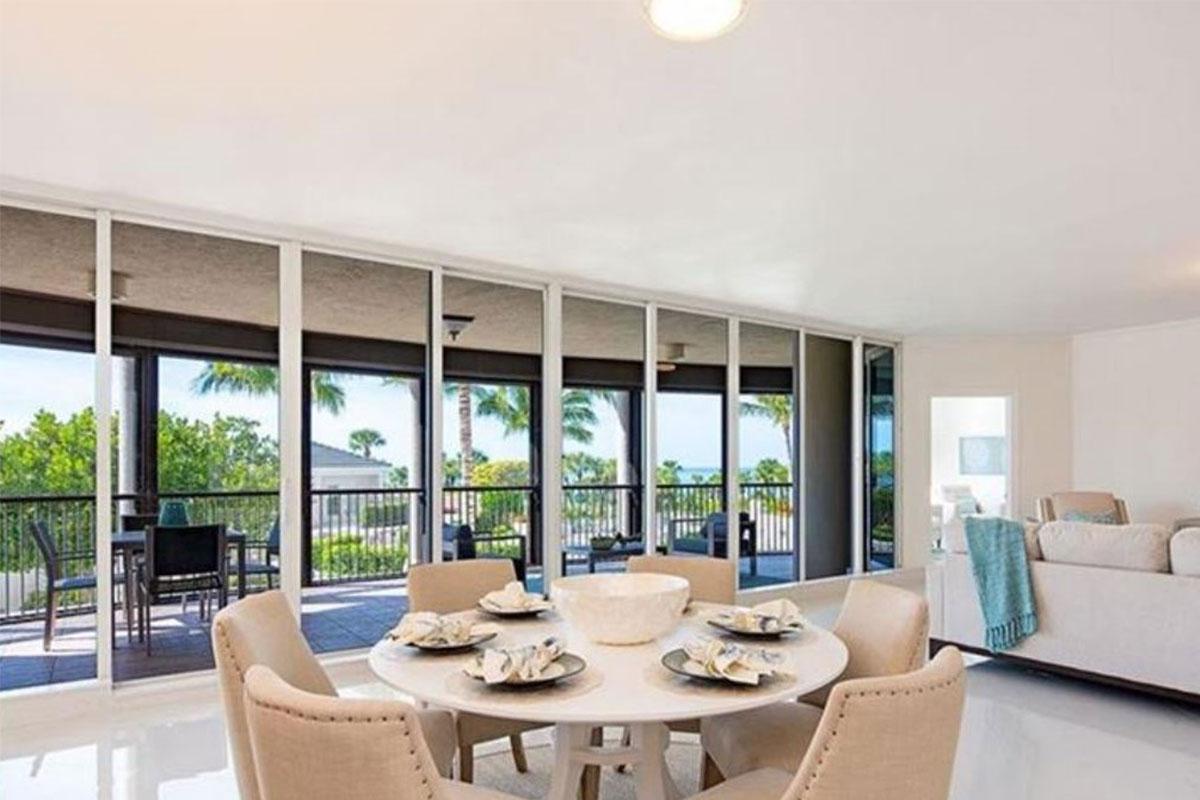 Remington living-dining after | Home Staging Services Southwest Florida